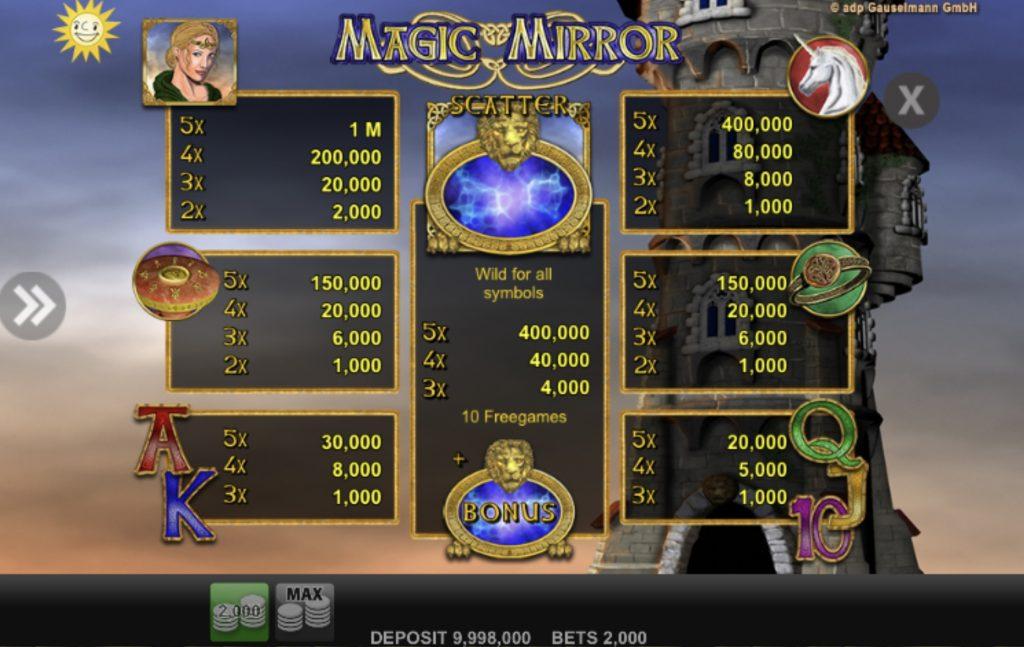 Magic Mirror-คาสิโน